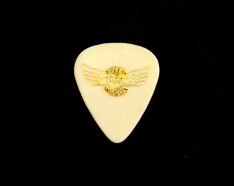 "REO Speedwagon, Guitar Pick, Kevin Cronin! Authentic Vintage '87! REO Speedwagon ""Life As We Know It""Kevin Cronin Concert Used Guitar Pick!"