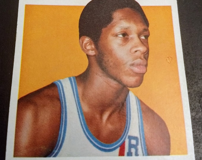 Nate Archibald, Topps Card, Rookie Card! Authentic Vintage 1971-72! Nate Archibald, Cincinnati Royals Guard, Rookie! Father's Day Gift! VG+
