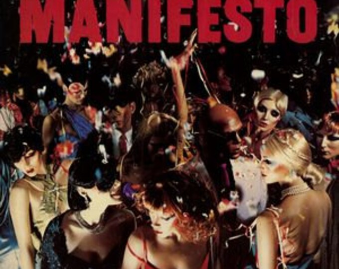 Roxy Music Vinyl LP Bryan Ferry Phil Manzanera! Authentic Vintage 1979! Roxy Music ~ Manifesto ATCO SD 38 114 Near Mint Vinyl