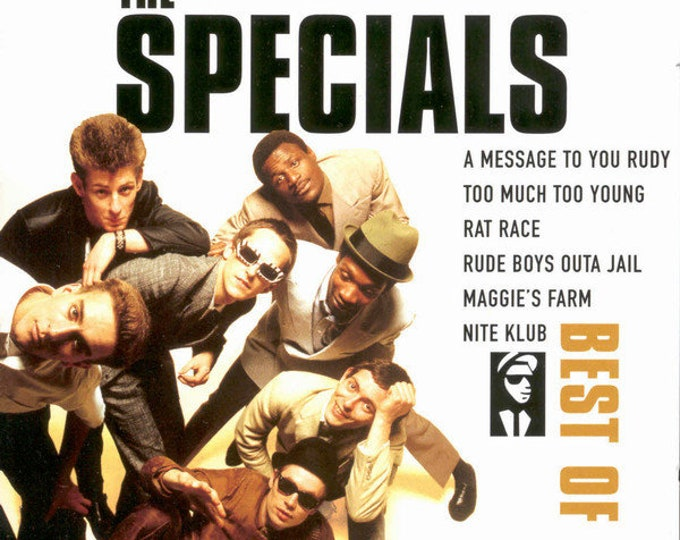 The Specials European Import CD! Authentic Vintage 1996! The Best Of The Specials! Disky DC 870702! British 70s-80s Ska Reggae! TwoTone! NM