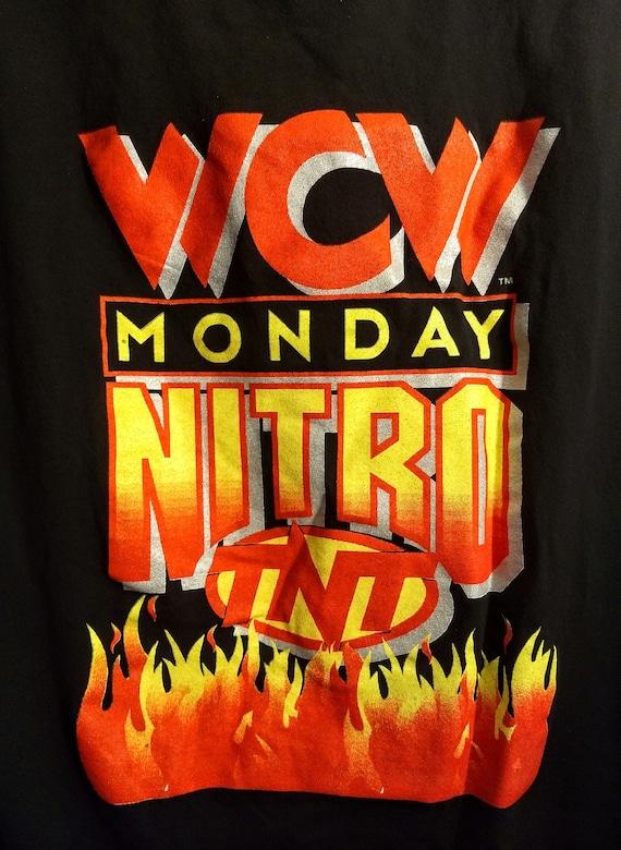 WCW, T Shirt, Television Crew Shirt!Authentic Vint