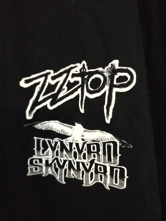 ZZ Top, Lynyrd Skynyrd, Concert Tour Shirt, Origin