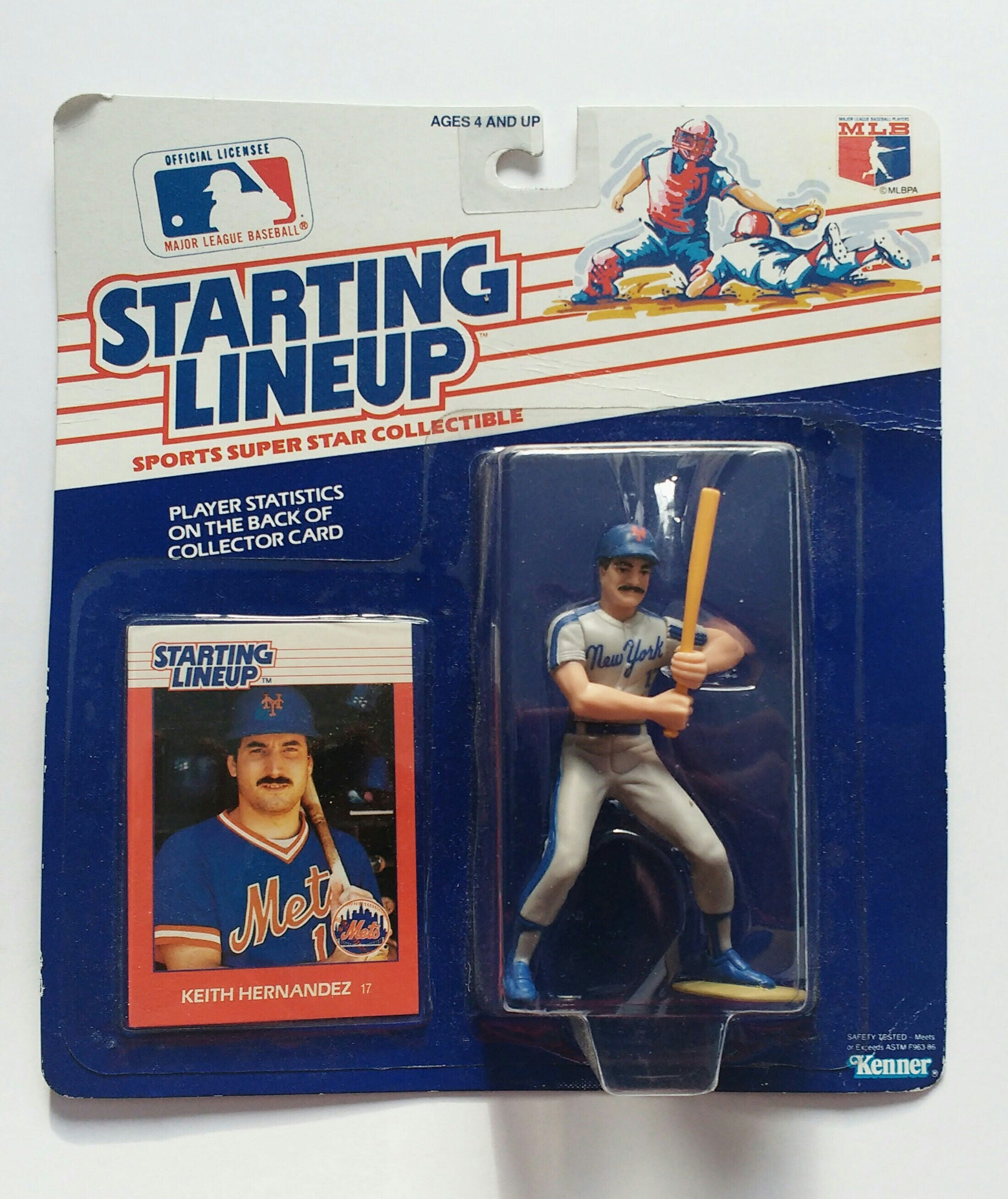 Keith Hernandez Rookie Starting Lineup Figure Authentic