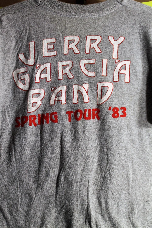Jerry Garcia Grateful Dead T Shirt! Authentic Vintage 83! Jerry