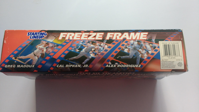 1998 Starting Lineup Derek Jeter New York Yankees Freeze Frame