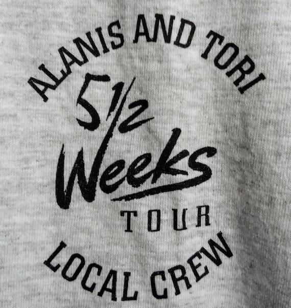 Alanis Morissette, Tori Amos, T Shirt, Tech Crew T