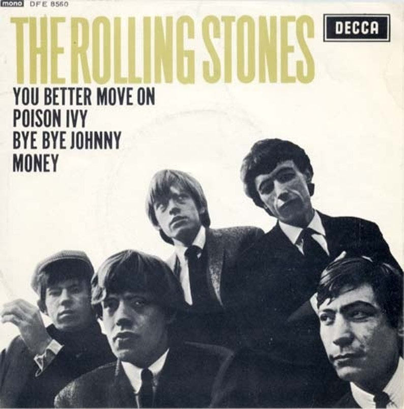 Rolling Stones '64 UK Import 4 Song EP Repress From 1972! Rolling Stones  Decca DFE 8560 Near Mint
