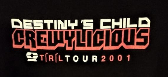 Destiny's Child, Beyonce, Concert T Shirt! Authent