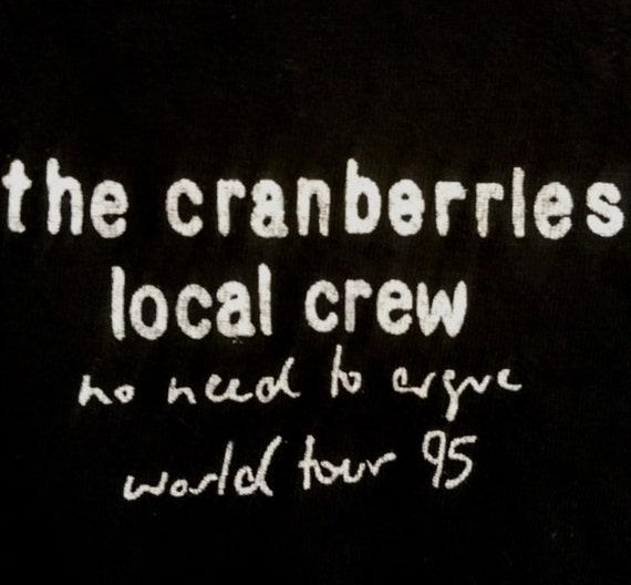 The Cranberries Vintage T Shirt Tech Crew! Authent