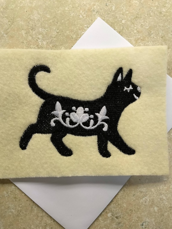 any occasion swedish cat silhouette etsy