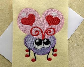 Valentine Day Cards - Love Bug