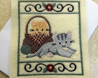 Any Occasion Cards - Two Kittens