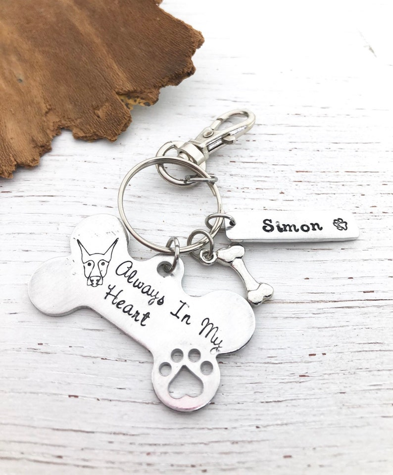 TIIMG Pet Adoption Gift Pet Rescue Gift Rescue Mom Rescue Dad Couple Keychain Set for Dog Cat Owner Animal Lover Gift