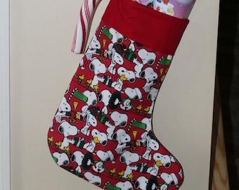 peanutssnoopy christmas stocking 006 - Snoopy Christmas Stocking