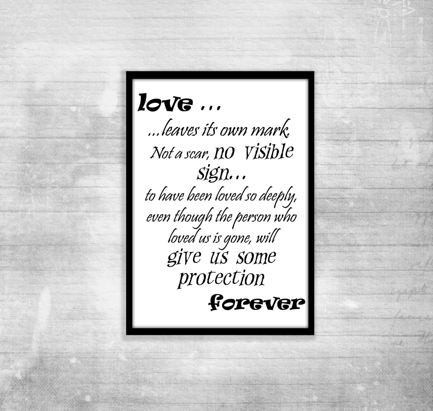 Harry Potter Book Quotes Inspiring ~ Harry potter poster quote albus dumbledore love inspiration etsy