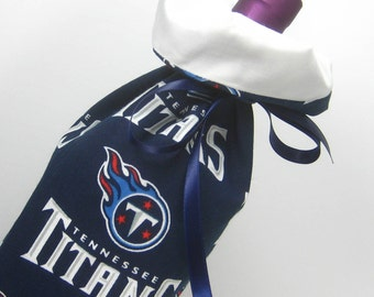 Tennessee Titans Wine Gift Bag
