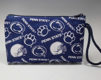 Penn State Montego Wristlet Wallet Cosmetic Phone Pouch