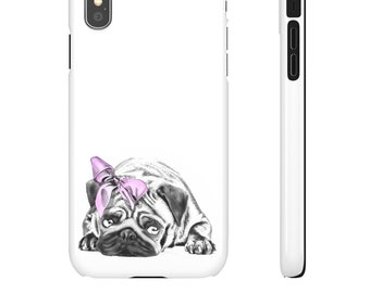 Pug - Smartphone Cases