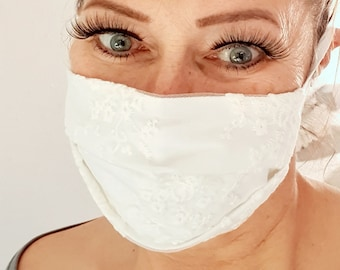 Lace Facie in 3 sizes Maske mit Spitze