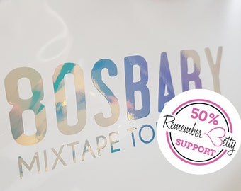 Decal - Aufkleber - 80s Baby - Mixtape Tour