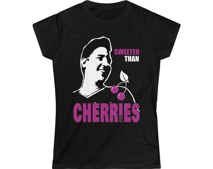 Sweeter than Cherries - NKOTB JON - Women's Softstyle Tee