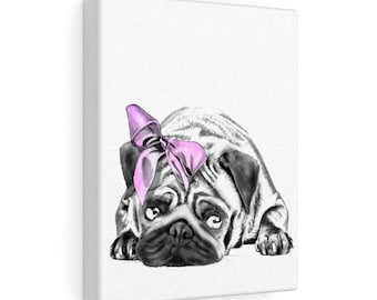 Pug - Canvas Gallery Wraps
