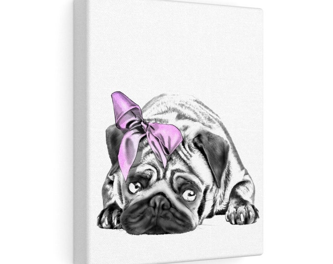 Pug - Canvas Gallery Wraps