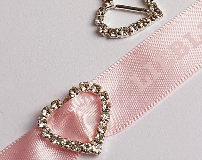 Rhinestone buckles decorative / crystal buckles for bouquets, wedding decorations, invitation buckles, shoe buckles