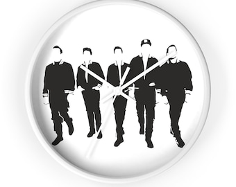 Wall clock - Boys in the band NKOTB