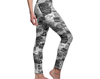 Leggings NKOTB MEMORIES - 30 years of touring and cruising memories - exclusive pattern