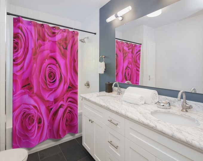 Shower Curtains ROSES
