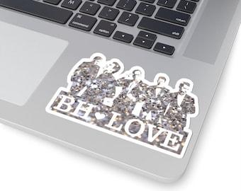 BH Love silver - NKOTB - Sticker white