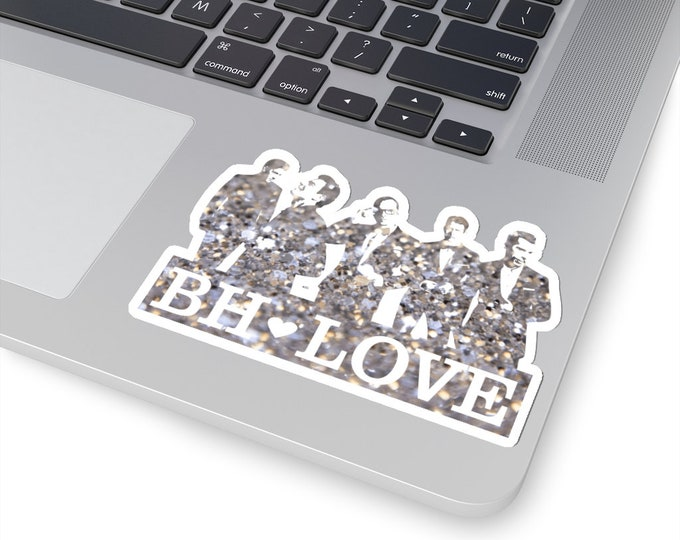 BH Love silver - NKOTB - Sticker white