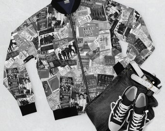 Bomber Jacket NKOTB MEMORIES - 30 years of touring and cruising memories - exclusive pattern