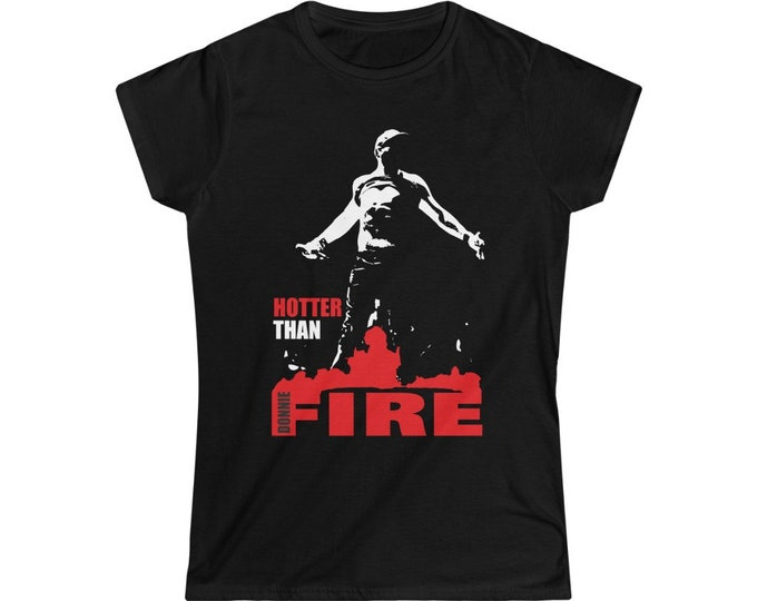 Hotter than fire - DONNIE NKOTB - Women's Softstyle Tee