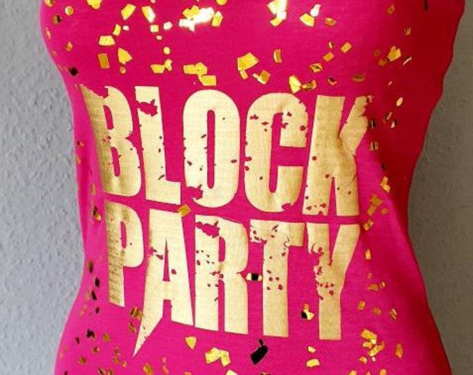 Block Party -  NKOTB - Lady-Fit Shirt
