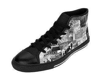 Women's High-top Sneakers - NKOTB MEMORIES - 30 years of touring and cruising memories