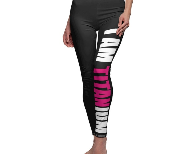 Casual Leggings I AM TITANIUM