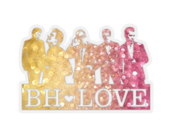 BH Love rainbow - NKOTB - Sticker transparent
