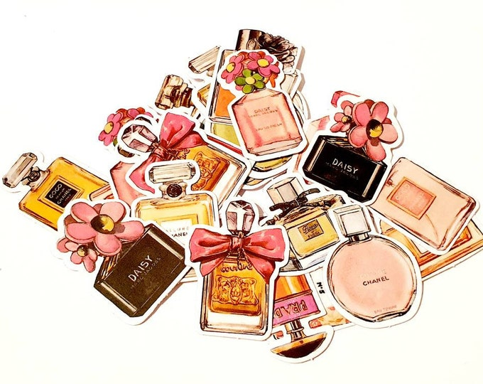 "Sticker set ""Perfumes"""