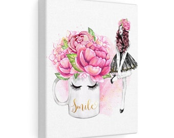 Smile - Canvas Gallery Wraps
