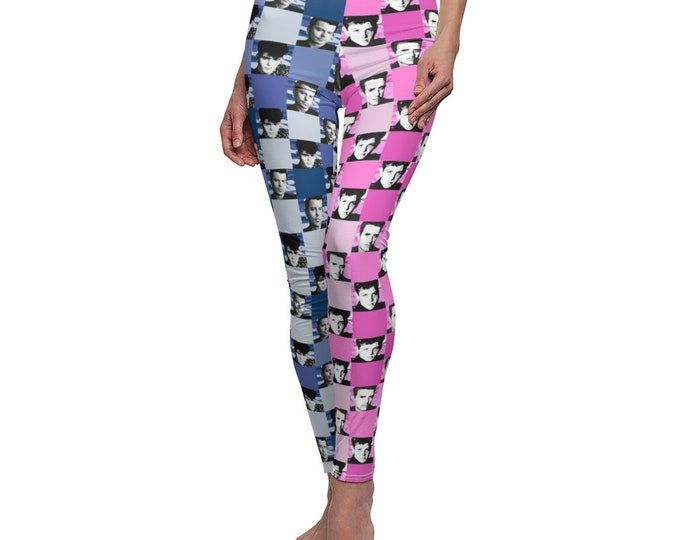 Leggings SQUARED NKOTB Jordan blue/Joe pink