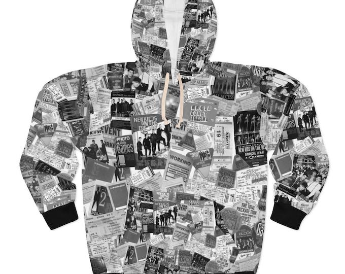 Unisex Hoodie NKOTB MEMORIES - 30 years of touring and cruising memories - exclusive pattern