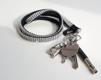 Beautiful Rhinestone Keychain / Lanyard