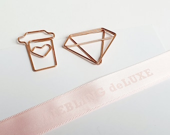 Paperclips Roségold