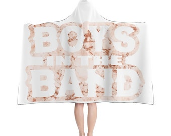 Boys in the Band - NKOTB - Hooded Blanket