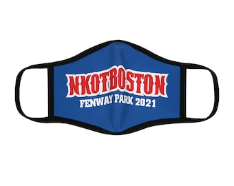 Fitted Polyester Face Mask NKOTBOSTON