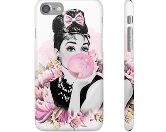 Pink Audrey - Smartphone Cases