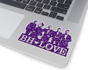 BH Love purple - NKOTB - Sticker transparent
