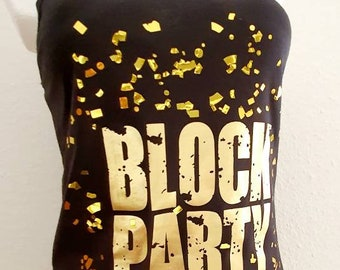 Block Party -  NKOTB - Iron on